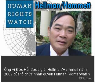 vi đức hồi, human rights watch, hellman, hammett